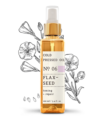 Nature Therapy Flaxseed Cold Pressed Oil