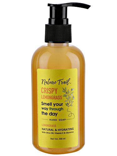 Nature Trail Crispy Lemongrass Handwash with Olive & Lemongrass Oil