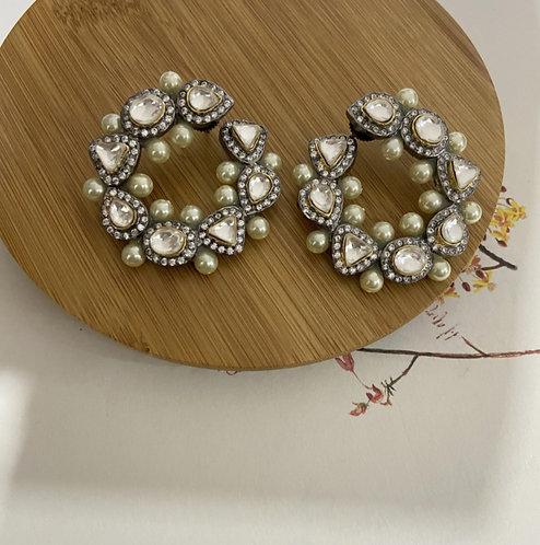Mozaati Victorian Swirl Earrings