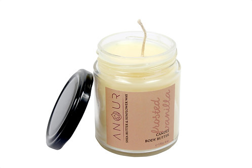 Anour Frosted Vanilla (Candle + Body Butter)