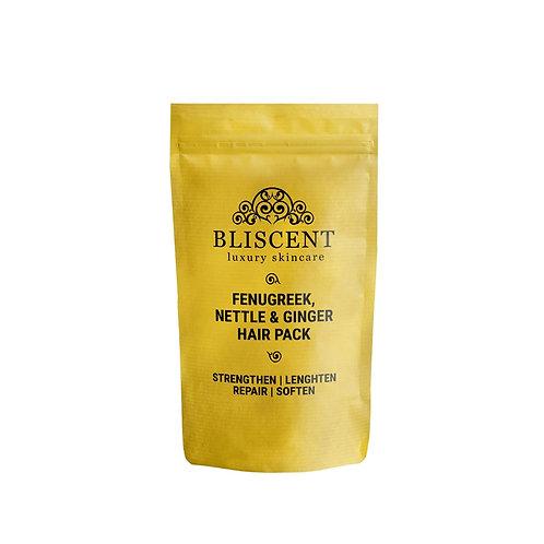 BLISCENT Fenugreek, Nettle & Ginger Hair Pack