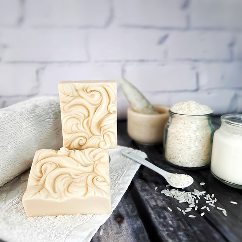 Iktara Rice Milk Organic Cold Processed Soap