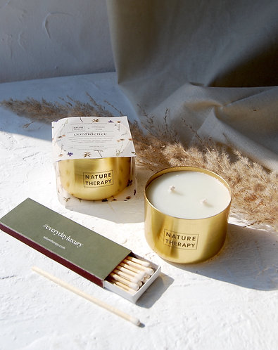 Nature Therapy Confidence Soy Candle