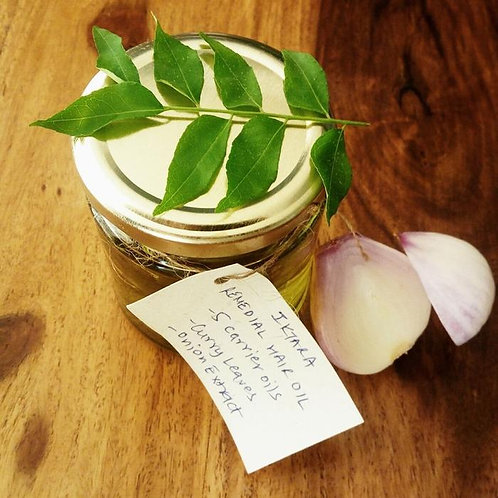 Iktara Onion Hibiscus Hair Oil