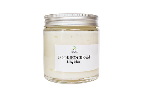 Kaura Cookie & Cream Body Lotion