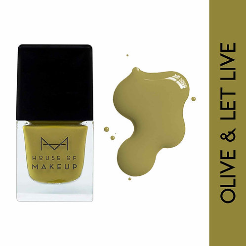 House Of Makeup Nail Lacquer - Olive & Let Live