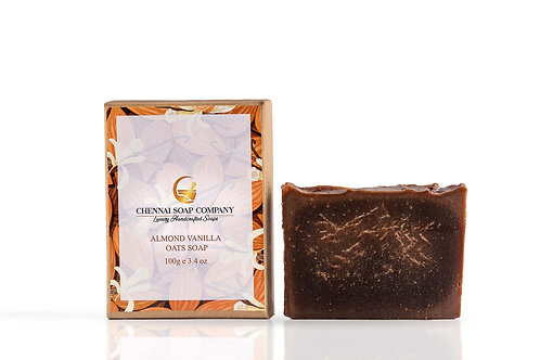 Chennai Soap Company Almond Milk Soap With Vanilla & Oats