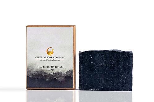 Chennai Soap Company Charcoal Verbena Soap