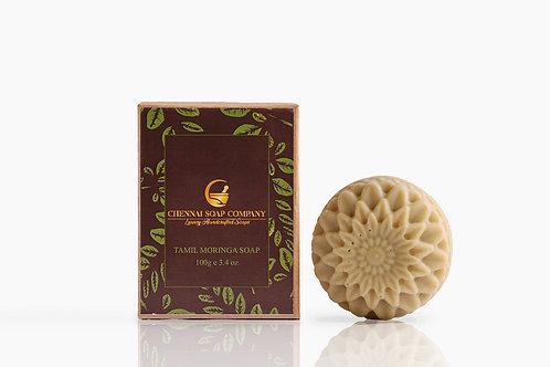Chennai Soap Company Tamil Moringa Soap With Moringa Oil