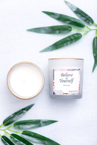 Whitefire Scented Candle - Believe In Yourself