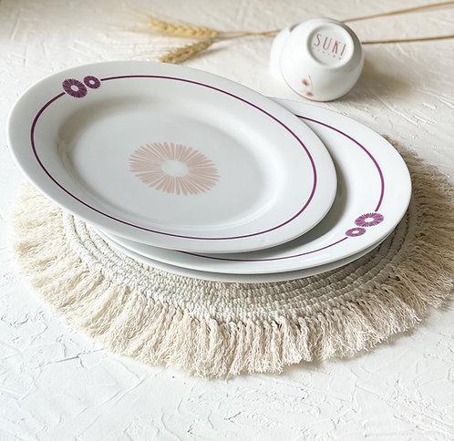 Suki Living Hana Dinner Plate