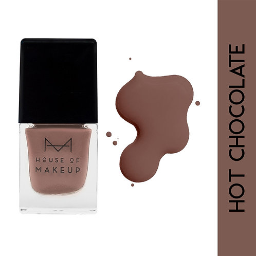 House Of Makeup Matte Nail Lacquer - Hot Chocolate