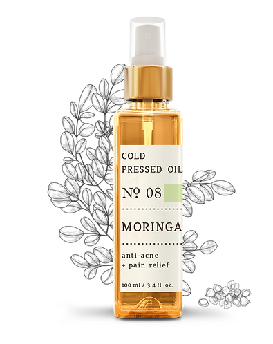 Nature Therapy Moringa Cold Pressed Oil