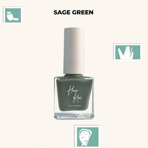 The Harkoi Nail Serum Sage Green
