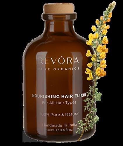 Revora Pure Organics Nourishing Hair Elixir Oil