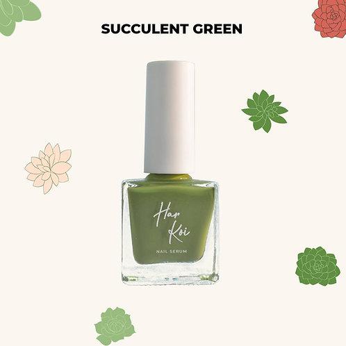 The Harkoi Nail Serum Succulent Green