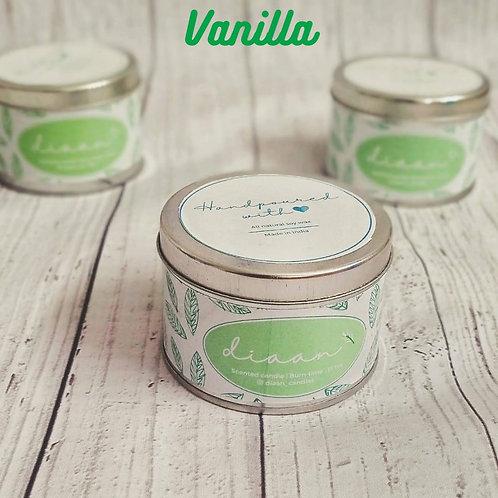 Diaan Vanilla Travel Tin Candle