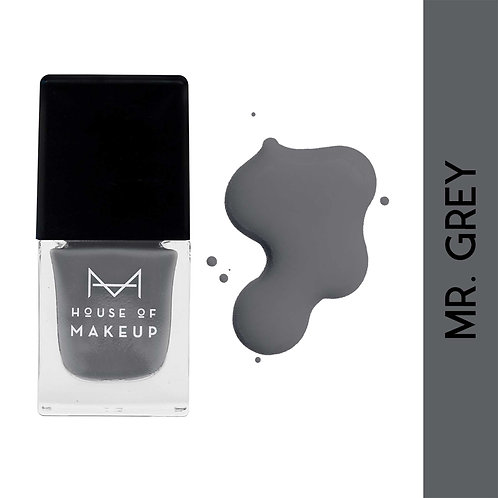 House Of Makeup Matte Nail Lacquer - Mr. Grey