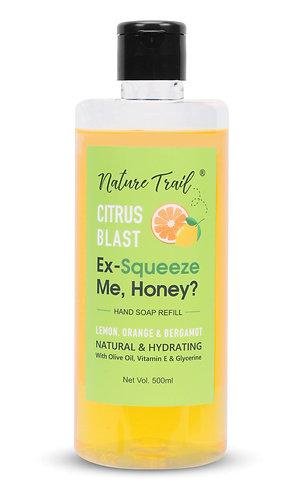 Nature Trail Citrus Blast Handwash Refill with Olive & Essential Oils