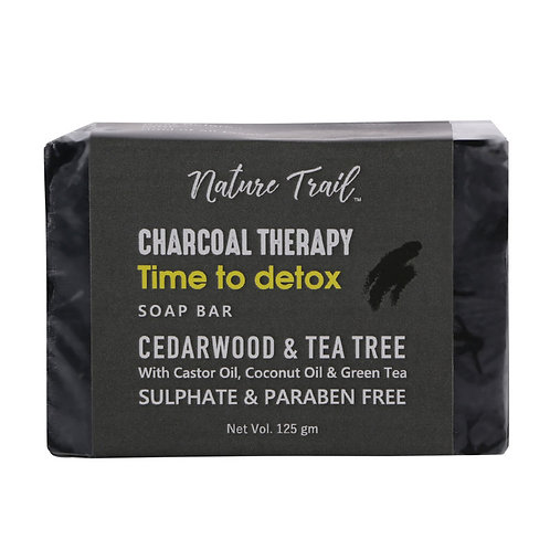 Nature Trail Charcoal Therapy Organic Soap Bar