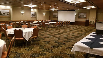 Snow Goose meeting and dining.jpg