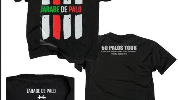 Camiseta Edición Especial Jarabe de Palo 50 Palos Tour