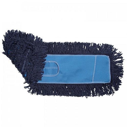 Blue Loopend Dustmop Heads