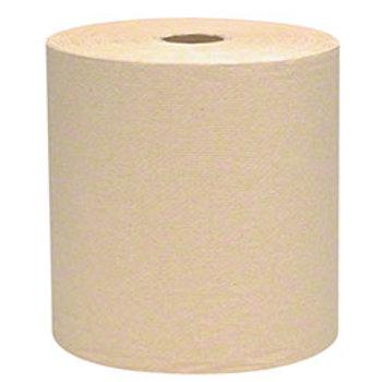 """8"""" x 350' Y- Cut Brown Roll Towel  12/cs"""