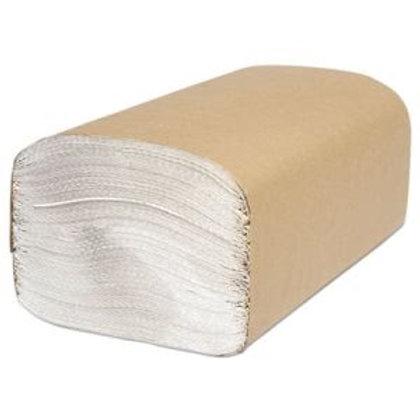 White Single Fold Towel