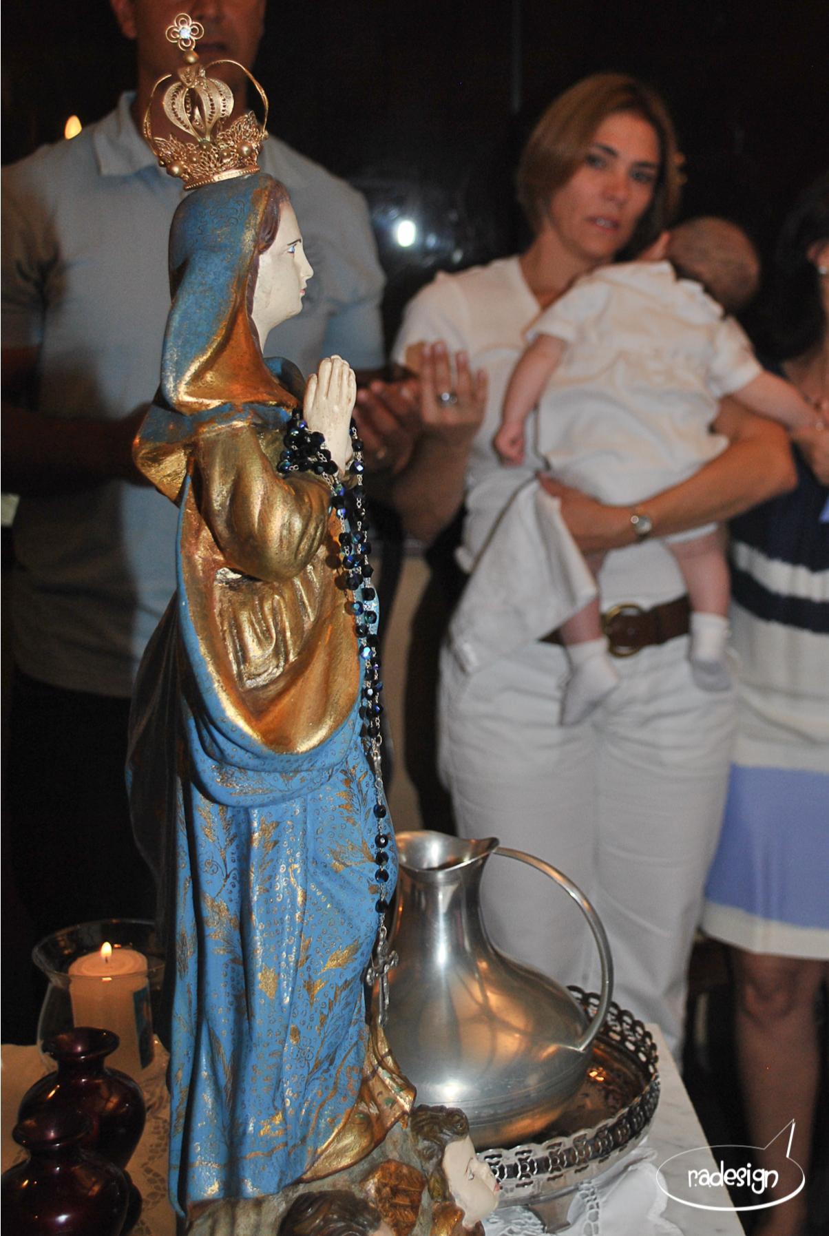 Batizado Leonardo - madrinhas