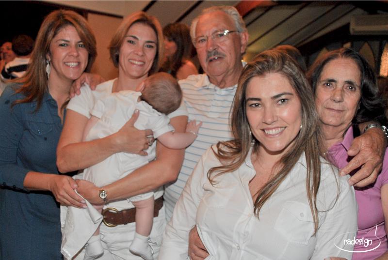 Batizado Leonardo Familia
