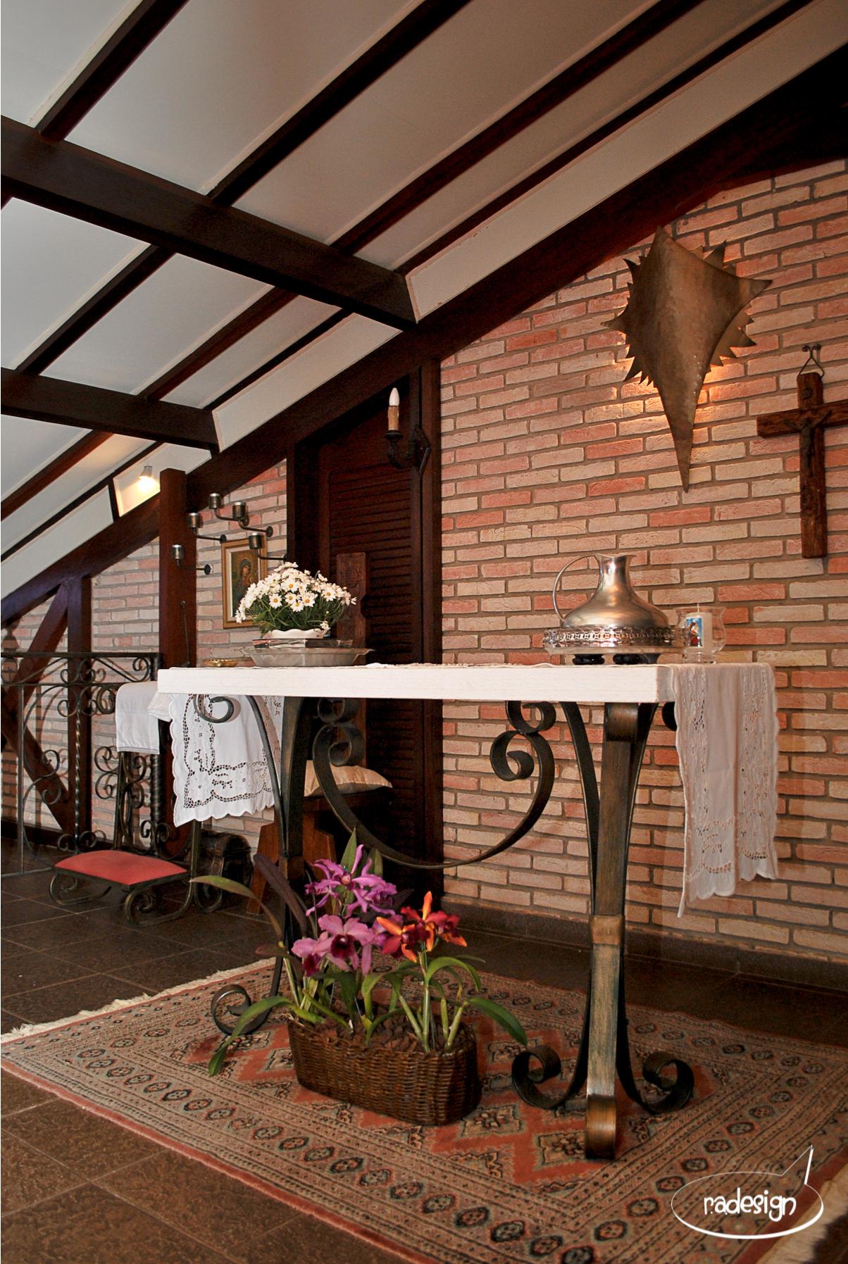 Batizado Leonardo - Altar