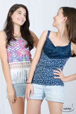 Festa Book Fashion - Ana e Thais