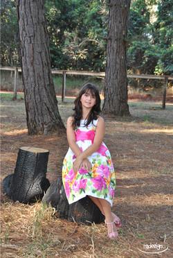 Ensaio Teen - Michelle 10 anos