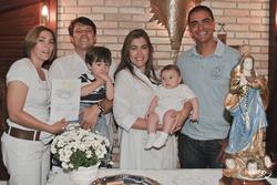 Batizado Leonardo Padrinhos
