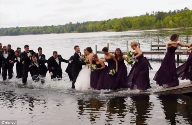 Casamento Molhado