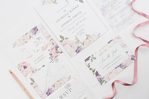 Summer Garden Wedding Invitations