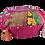 Thumbnail: Indian Patchwork Cushion pink