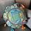Thumbnail: Indian Patchwork Cushion blue