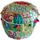 Thumbnail: Indian Patchwork Poef Light Green