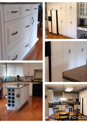 Kitchen Cabinets Painting