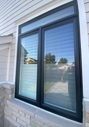 Vinyl Windows Painting - Milton
