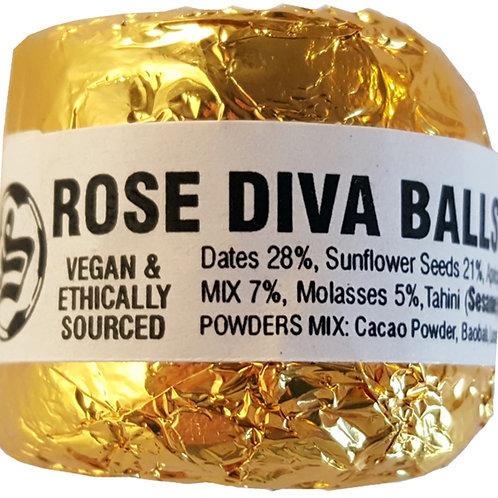 20 X ROSE DIVA BALLS - £2.00 each