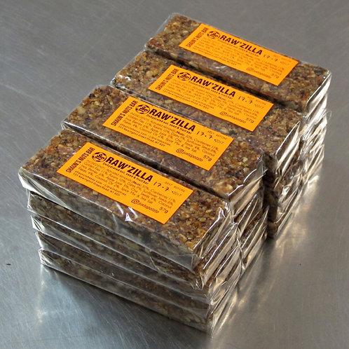 20 X RAW'ZILLA - SHAUN'S NUTS BAR - £2.15 each