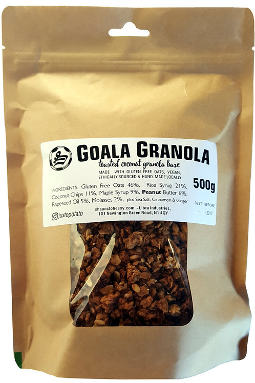 3 x GOALA GRANOLA - 1500gram - £6.00 each