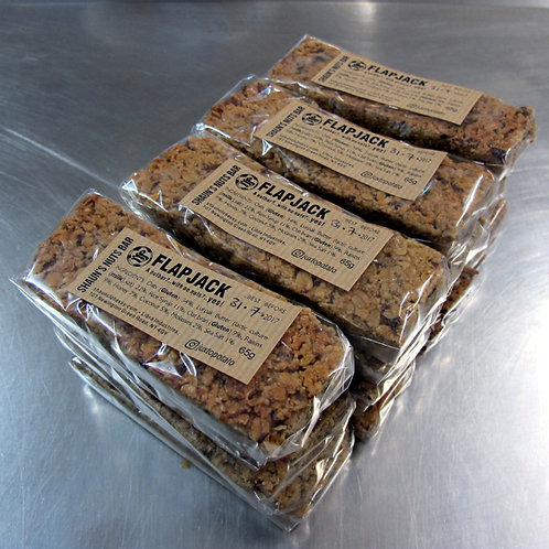 20 X FLAPJACK -  SHAUN'S NUTS BAR - £1.70 each