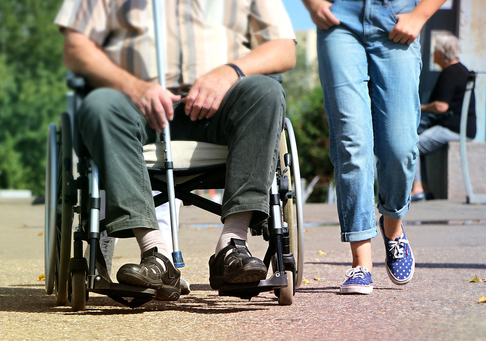 walking-old-young-help-pram-wheelchair-5