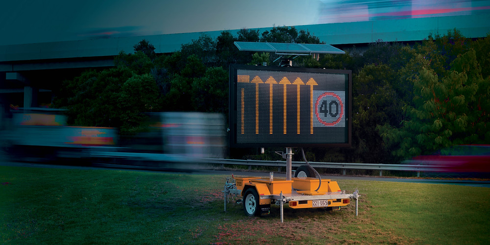 premium variable message sign trailers