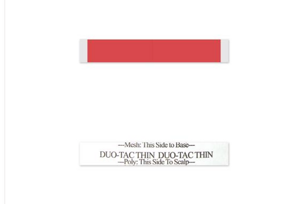 "Super Thin Lace Tape ( 1/2"" x 3"")"