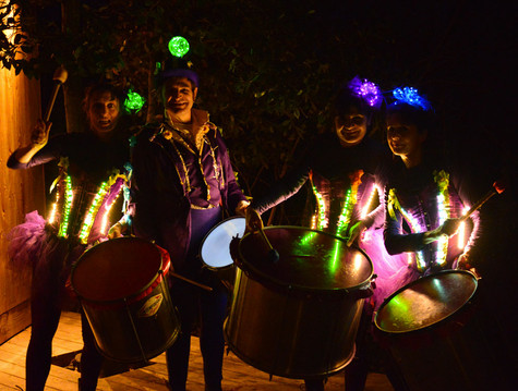Ultraviolet Percussion en Nocturne ...